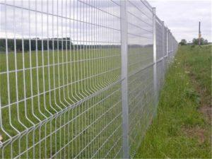 забор  из секций евроограждения