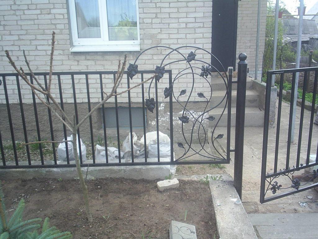 Забор из секции  металлических элементов Витебск