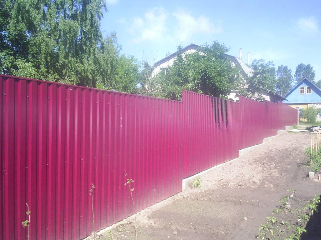 забор из металлопрофиля Витебск